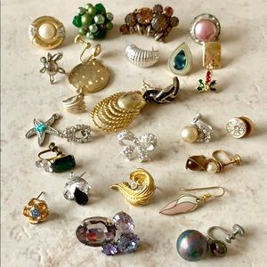 Jewelry - Vintage Single Earrings